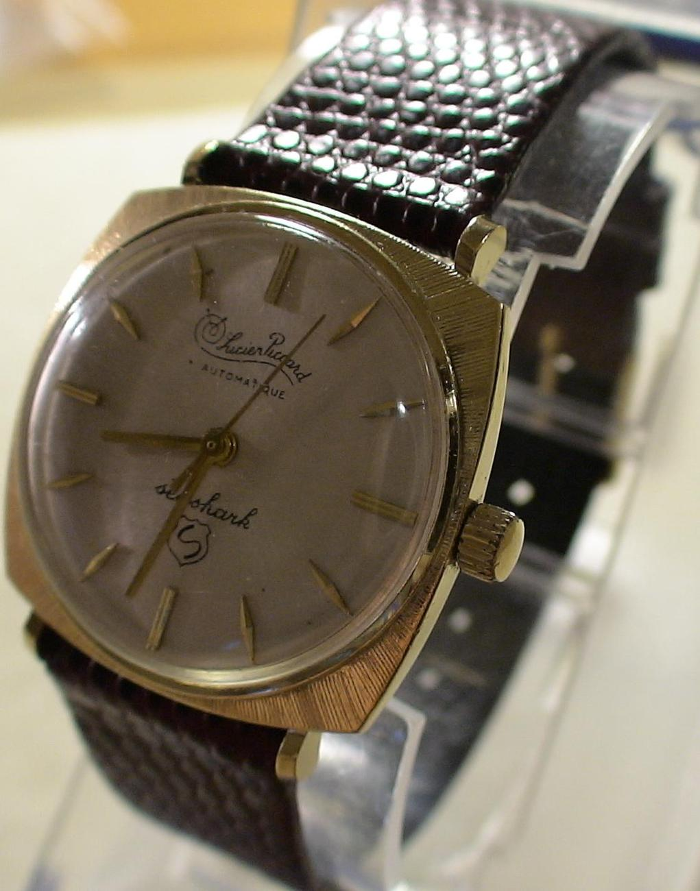 lucien piccard s automatic seashark 10k gold