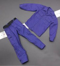 1/6 Soldier Model SWAT Solder Fight Blue Clothes - $21.61