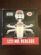 STAR WARS MR. REDLEGS X-WING FIGHTER 2016 SGA BOBBLEHEAD CINCINNATI REDS... - $17.75