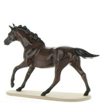 Hagen Renaker Miniature Horse Thoroughbred Race Seabiscuit Ceramic Figurine image 5
