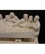 Vintage Last Supper L Toni Shelf Sculpture Jesus Disciples Resin Great D... - $24.50