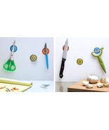 Peleg Design Magnetic Stickers set 3 home  Kitchen office wall metal not... - €16,10 EUR