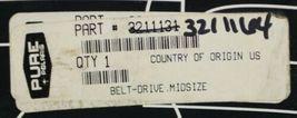 Pure Polaris 3211164 Midsize Belt Drive Genuine OEM Part image 5