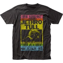 Jethro Tull Royal Albert Hall Charcoal Gray T-Shirt Men's Licensed Band ... - $20.00