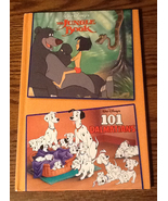 Walt Disneys The Jungle Book and 101 Dalmatians Book Two Stories in One ... - $5.50