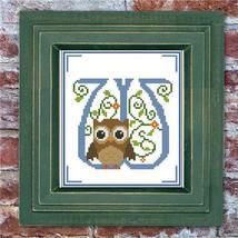 Hooties Alphabet W cross stitch chart Pinoy Stitch - $5.40