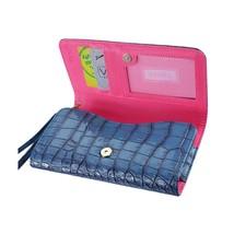 Alligator Blue Wallet Credit Card Case fits LG Tribute Dynasty (Sprint) - $19.79
