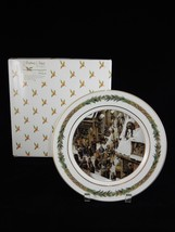 Department 56 Christmas Classic Collector Plate ~ No. VII People Shoveling - $28.49