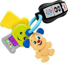 Fisher-Price Laugh & Learn Play & Go Keys, musical learning toy for babies and t - $16.80
