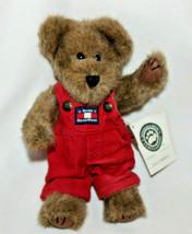 "Retired Boyds Bears 10in ""Kyle L. Berriman"" Style #917401 Red Corduroy Bibs - $17.41"