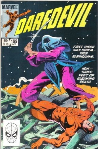 Daredevil Comic Book #199 Marvel 1983 VERY FINE+ UNREAD