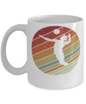 Retro Vinatge Style Sports Mad Volleyball Mug Gift Idea  - $14.95