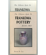 Collectors Guide to Francoma Pottery Book 2 Cox book & supplement 1982 - $45.00