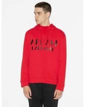 Armani Exchange Men's Red Hooded Sweatshirt,SIZE XL - $55.43