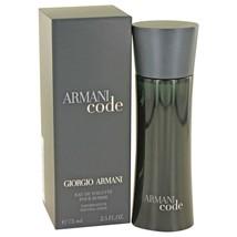 Armani Code By Giorgio Armani Eau De Toilette Spray 2.5 Oz 416211 - $76.67