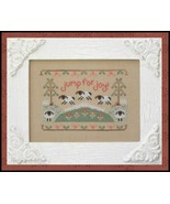 Jump For Joy easter spring cross stitch chart C... - $5.40