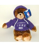 1/2 off! Phoenix Suns 13 inch Plush Purple Hoodie Bear NBA NWT - $3.52