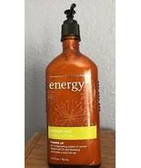 Bath & Body Works Aromatherapy Energy Lemon Zest Body Lotion 6.5 oz. New - $27.08