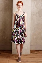 Nwt Anthropologie Abstract Floral Tank Dress By Tabitha 8, 10 - $90.24