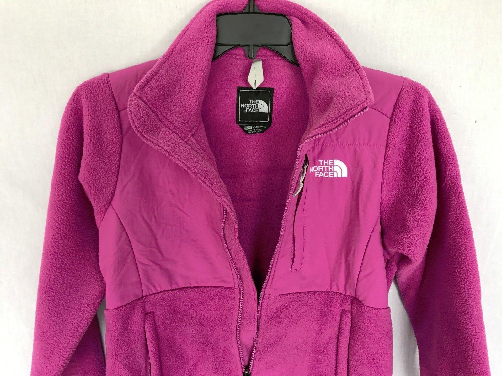 NWT The North Face Denali Women's Classic Fleace Jacket Plum XS Anlp