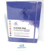 """Clever Fox Planner PRO, Non-Dated Weekly Planner, Lavender. 8.5"""" x 11"""" - New - $34.60"""