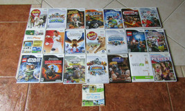 (22) NINTENDO Wii PETZ, SPORTS,STAR WARS,HARRY POTTER,PET VET,SKYLANDER... - $69.29