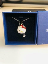SWAROVSKI x Hello Kitty Collaboration Necklace Christmas Limited Authent... - $200.29
