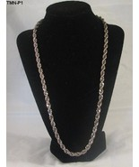 "Unisex 22"" Twisted Metal Necklace - $9.99"