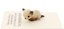 Hagen-Renaker Miniature Cat Figurine Tiny Siamese Kitten Lying Chocolate Point image 4