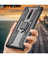 Shockproof Armor Case For Redmi K20 Pro Note 7 Pro 7S Stand Car Ring Cov... - $4.63