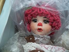 Marie Osmond Doll Chocolate Raspberry w/ necklace - MINT! - $39.59