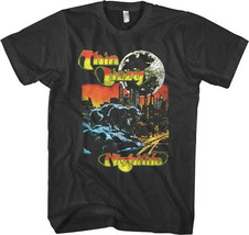 Thin Lizzy-Nightlife- 2X Black T-shirt - $18.37