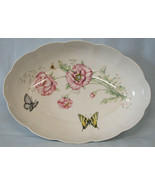 "Lenox Butterfly Meadow Oval Serving Bowl or Baking Dish 13"" x 9 1/4"" x 2... - $59.29"