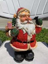 Vintage Santa Claus Statue Figurine - $19.99