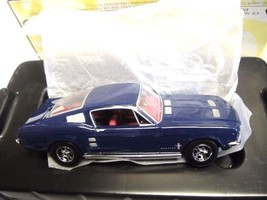 Matchbox Collectibles 1967 Ford Mustang Fastback Diecast 1:43 Scale Blue... - $40.50
