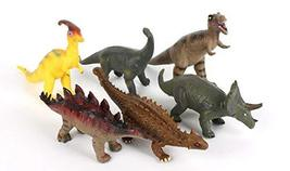 ETS Toys Soft Dinosaurs Miniature Action Figure Figurines Toys Playset Play Set