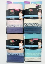 Fruit of the Loom Ultra Womens Brushed Cotton 3pk Briefs Various Colors ... - $12.99