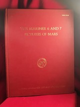 The Mariner 6 and 7 Pictures Of Mars signed by Ray Bradbury VERY rare - $343.00