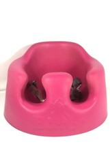 Bumbo Infant Booster Floor Foam Seat With Safety Straps Dark Pink Very Nice - $49.49