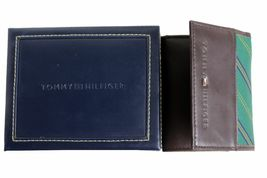 Tommy Hilfiger Men's Leather Credit Card Wallet Passcase Trifold 4311/02 image 10