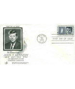 5c John F Kennedy 1964 Envelope First Day Cover - $5.95