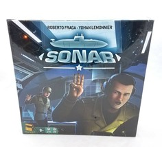 Sonar Submarine Combat Board Game Strategy by Matagot Asmodee 2017 NEW S... - $29.60