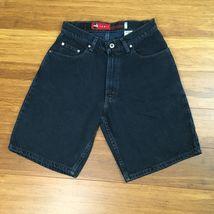 Levis Mens Silvertab Size 30 Black Loose Fit Jean Shorts - $17.49