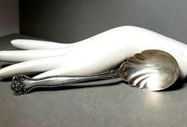 """Vintage Sterling Silver Sugar Serving Spoon  6""""   28.9 grams - $66.79"""
