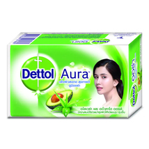 Dettol Aura Aloe Vera & Avocado Oil Bar Soap 125 G. - $9.99