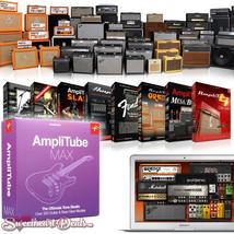 IK Multimedia AmpliTube Max - Guitar Amplifier Software Bundle - Download - $499.99