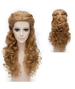 Disney Cinderella Princess Beauty and the Beast Bell Long Wavy Wig - $33.58