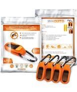 MosQuitO Repellent Reusable Clip 4 Pcs and Refills 8 Pcs - Premium Quali... - $14.74