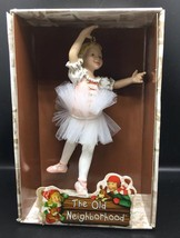 Vintage Kurt Adler Ballerina NEW Christmas Ornament The Old Neighborhood NIP - $16.82