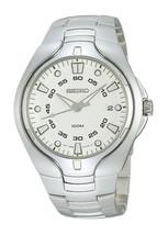 Seiko mens watches quartz  stainless steel bracelet caliber 7N42 SGEA69 - $184.55